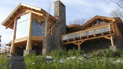 White Bear Lake Log Home