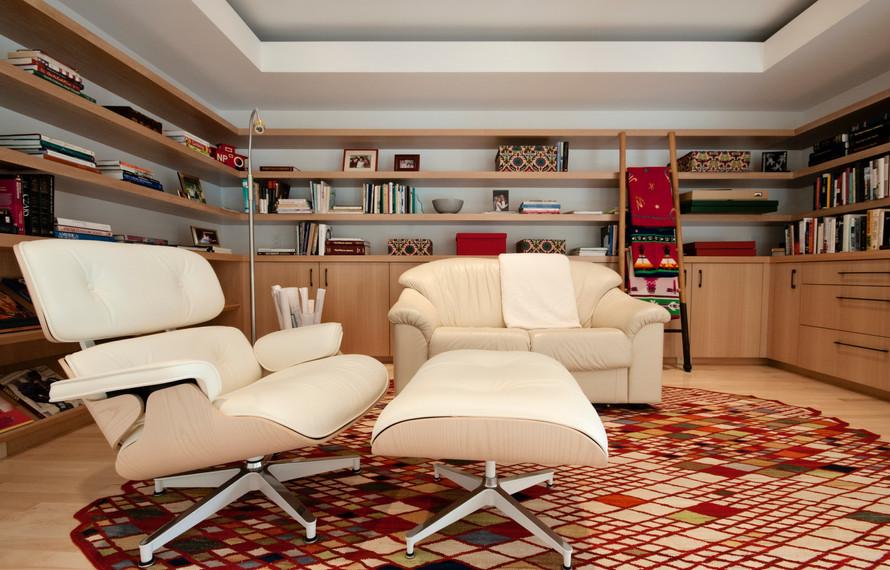 wayzata contemporary remodel - Bookshelv