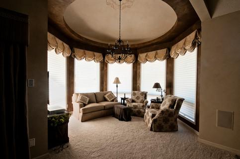 Round Sitting Room