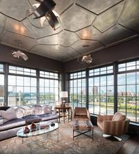 Unique Ceiling and Views