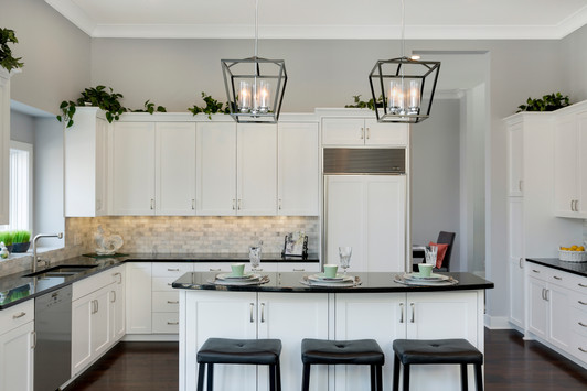 Updated white kitchen