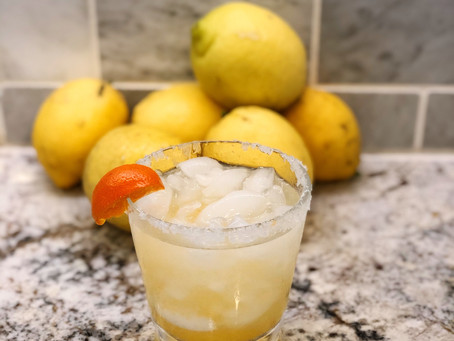 When Life Give You Lemons... Make a Citrus Margarita