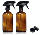 Amber Glass Sprayers