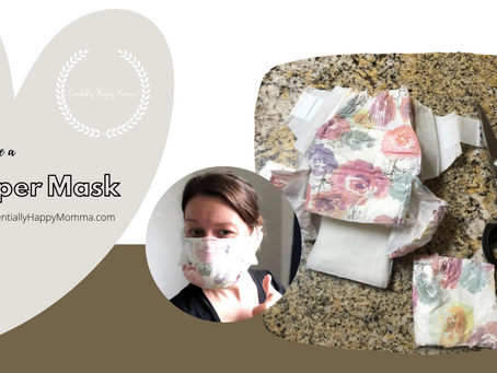 How to Make a Diaper Mask