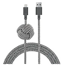 Native Union Zebra 10 ft Charging Cable