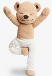 HLBJ Soft Toy Birthday Gifts Yoga Bear Doll Creative Variety Modeling Doll
