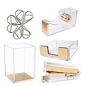 Desk Accessories Gold