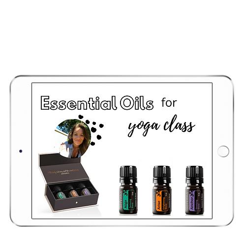 Yoga + Oils Class