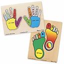 Hands + Feet Puzzle Set