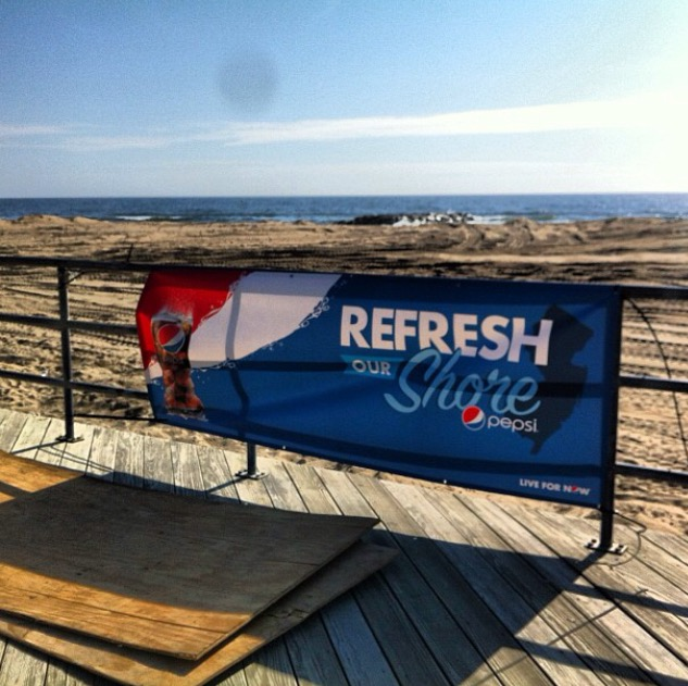 Pepsi Refresh Our Shore
