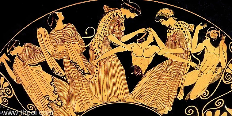 SASA Mini Reading Group: The Bacchae of Euripides: On Priestesses, Orgasmic Dancers, and Other Decadent Women