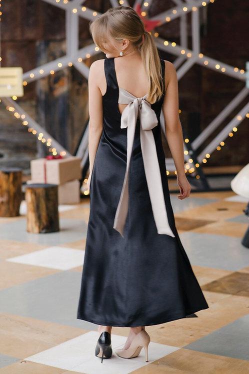 Платье из шелковистой вискозы
