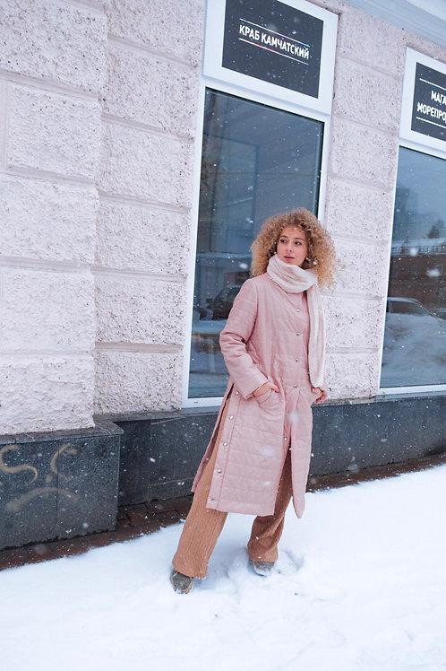 Облегченное стеганное пальто
