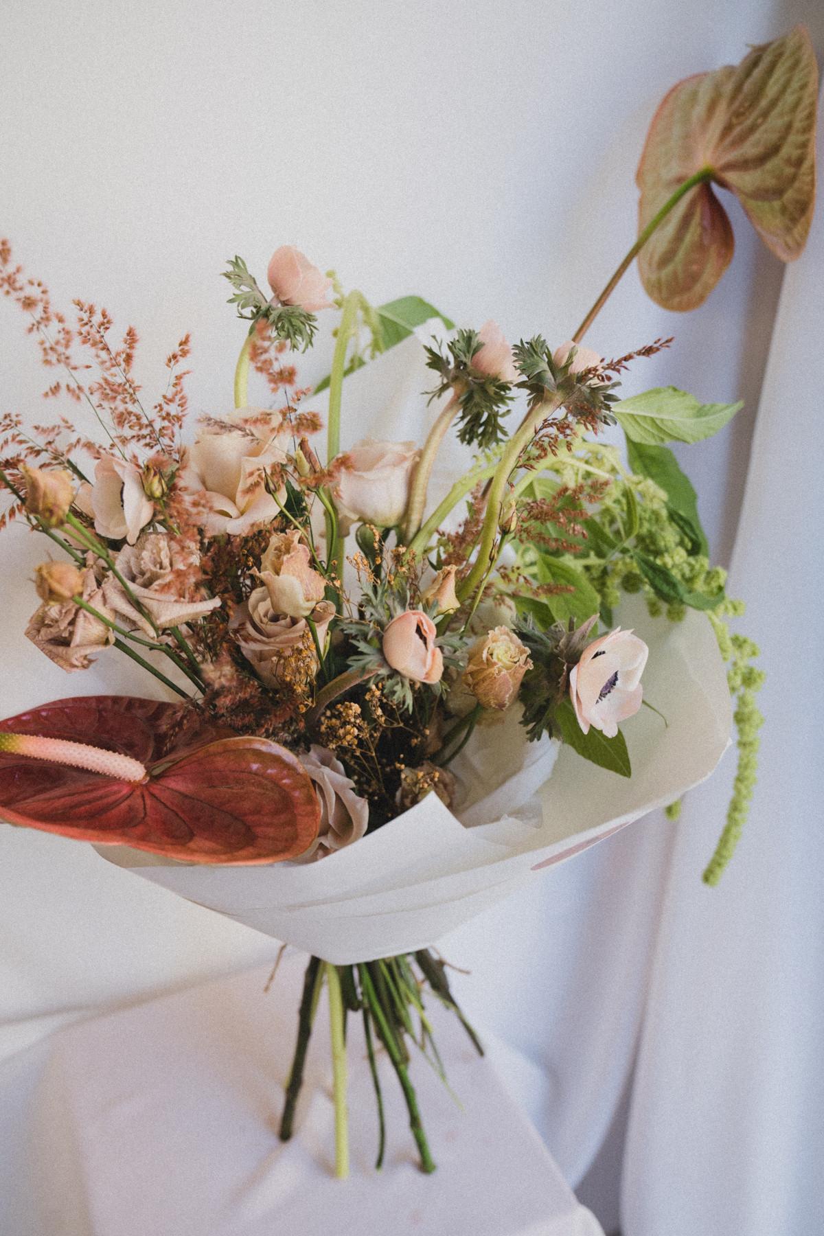 Stunning Fresh Flower Bouquet Creation