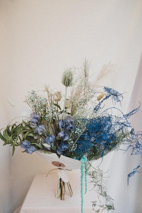 Blue forest dried bouquet (Blue)