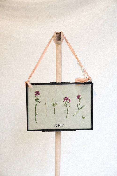 Pressed Flower Frame - serenity (small)