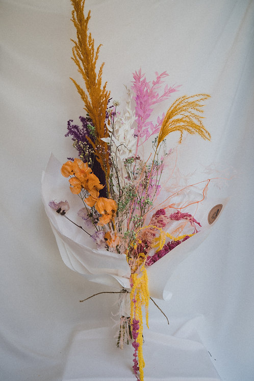 Dried flower bouquet (Mixed colour)