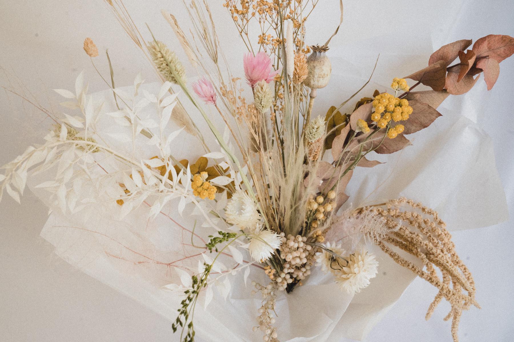 Dried Flower Bouquet Class (40mins)