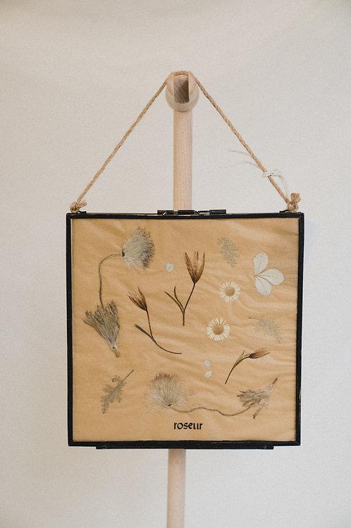 Pressed Flower Frame - floating forest 2 (medium)