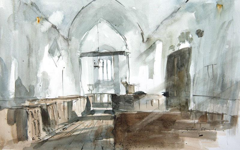Honey church, Devon