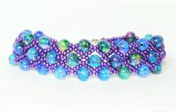 Netted Watercolor Bracelet