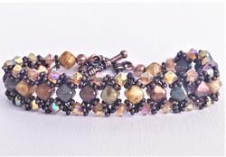 Fall Cross Weave Bracelet
