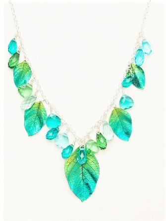 HollyYahiLeafNecklace