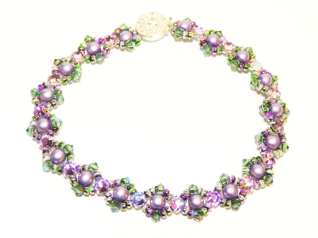 Montee Cross Bracelet