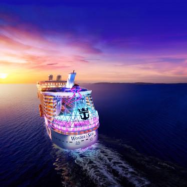 O maior navio do mundo estreia em 2022, segundo anuncio da Royal Caribbean!