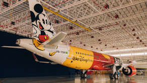 """Azul e Disney fazem parceria para """"A Frota Mais Mágica do Mundo""""!"""