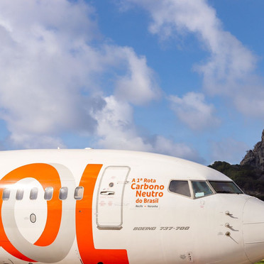 GOL realiza primeiro voo carbono neutro do Brasil!