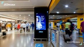 Com volta às viagens, consumo cresce nos aeroportos de Brasília e Guarulhos, aponta JCDecaux!