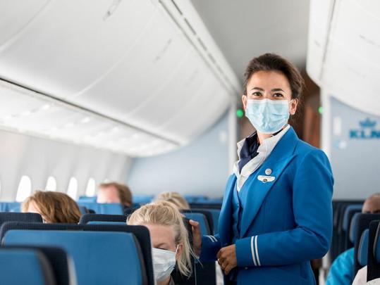 KLM conquista prêmio Diamante como Melhor Companhia Aérea em Segurança Sanitária!