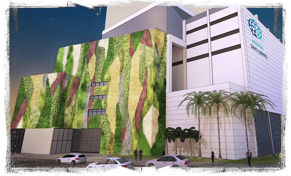 Arquitetura Hospitalar Jardins Verticais
