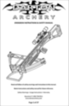 Darton Crossbow manual