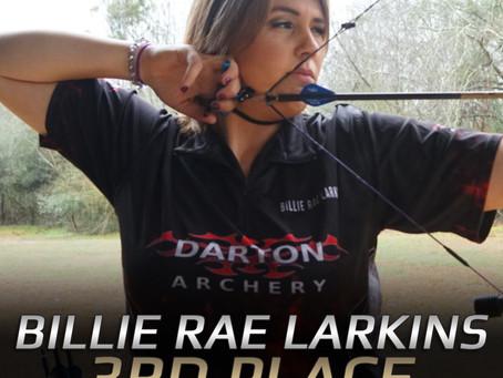 Congratulations Billie Rae Larkins!