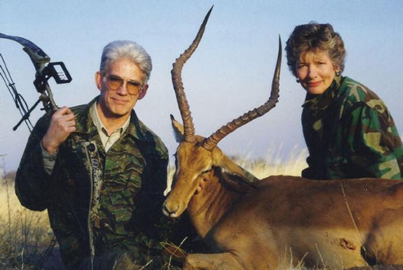 Rex and Barb-safari 1998.jpg
