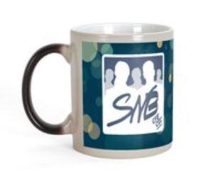 Mug magique 325 ml avec logo SNB marine
