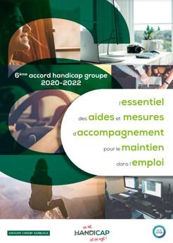 Accord Groupe Handicap 2020-2022