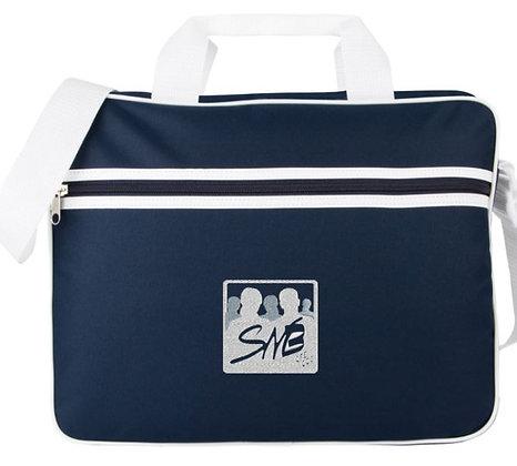 """Sacoche pour ordinateur 15,6"""" logo SNB brodé"""
