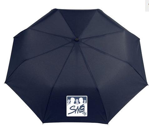 Parapluie 3 sections à ouverture automatique avec logo SNB