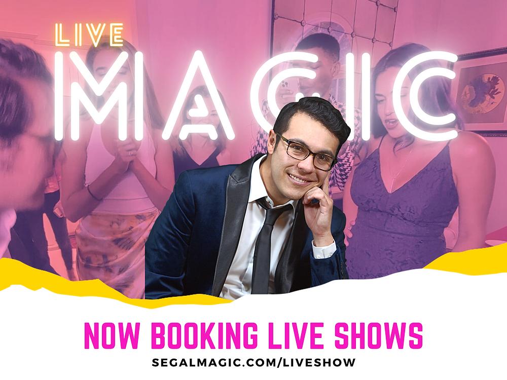 Segal Magic Live Show