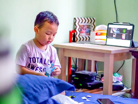 COVID-19 XPERIENCE #1 : Menemani Toddler School-from-Home