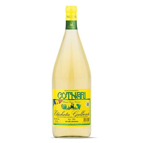Cotnari Vin Alb Demisec - 1,5L