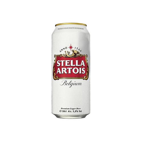 Bere Stella Artois Belgium Doza 500ml