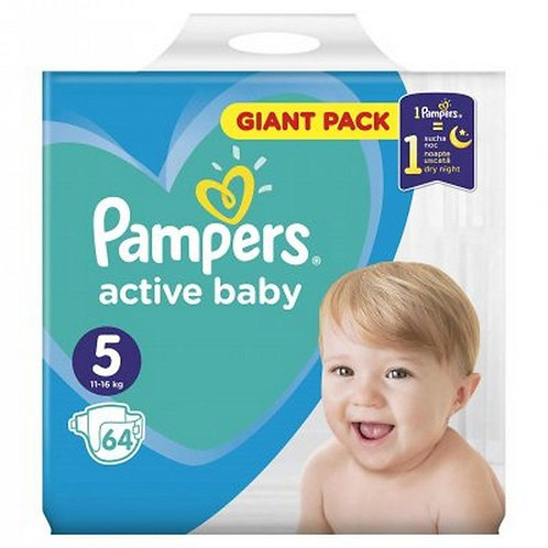 Pampers Active Baby 11-16kg 64buc