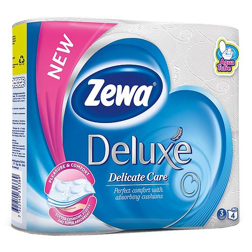 Zewa Hartie Igenica 4 Role 3 Straturi Pure White