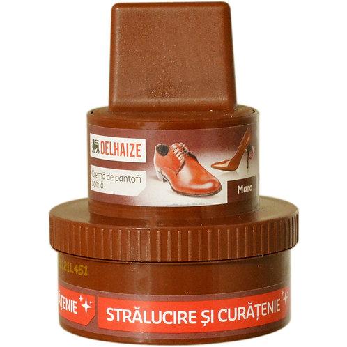 Crema pantofi solida maro - DLL - 50ml
