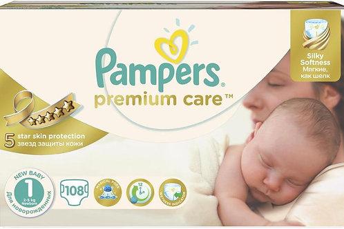 Pampers Premium Care Newborn 108buc