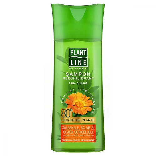 Plant Line sampon galbenele - 250ml